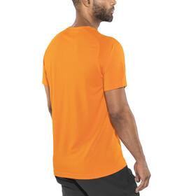 Columbia Mountain Tech III Maglietta a maniche corte Uomo arancione
